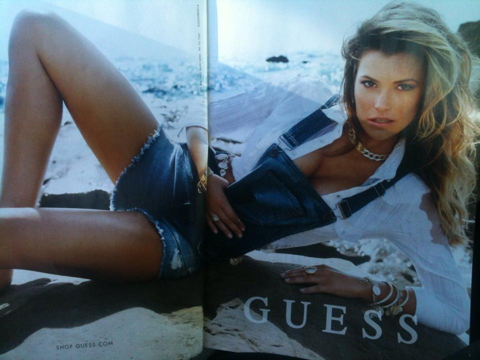 Guess Overalls 2014