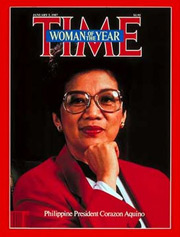 1986: Corazón Aquino (b.1933-d.2009)