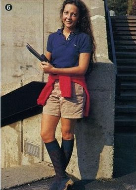 Early 80s Preppy Look