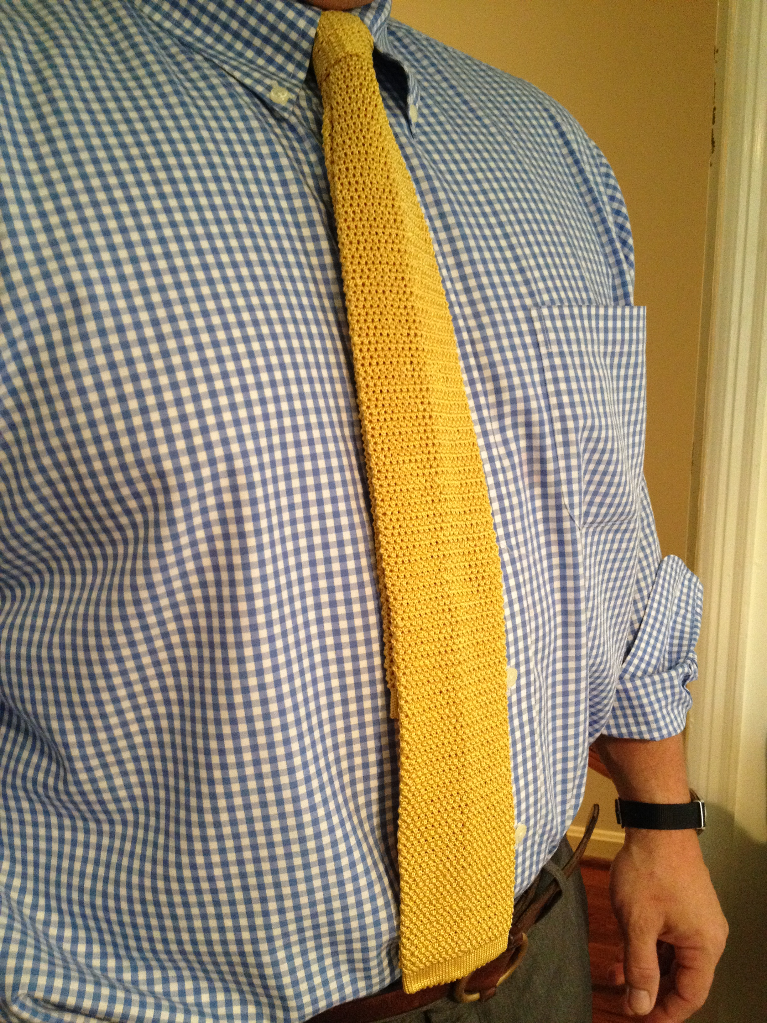 80s knit square-end ties for men - totally tubuler | Like Totally 80s