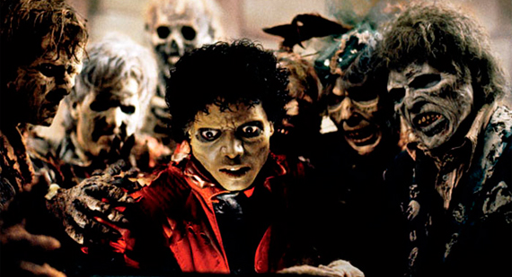 Still from Thriller Video by Michael Jackson