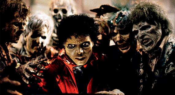 Still from Thriller Video by Michael Jackson