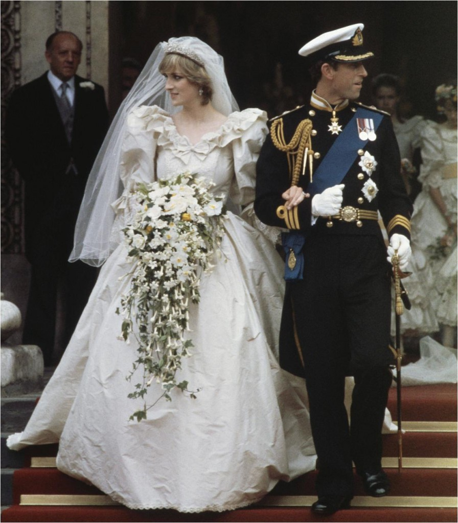 princess di wedding dress with charles