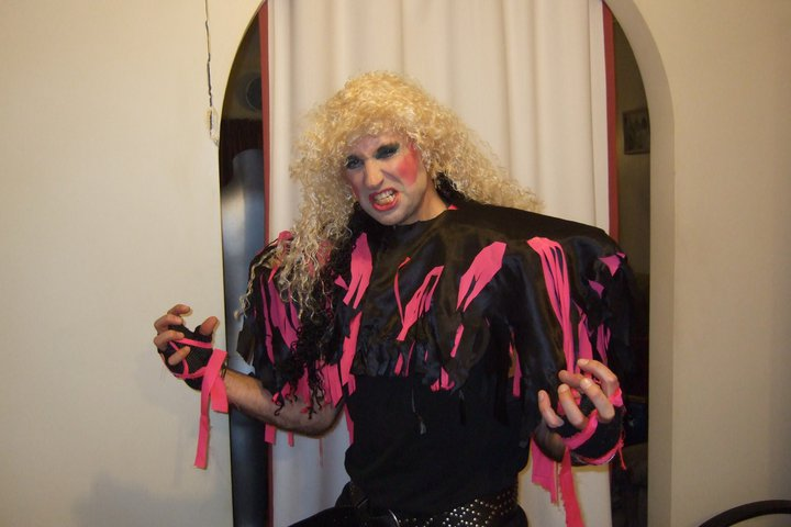 Dee Snider of Twisted Sister costume