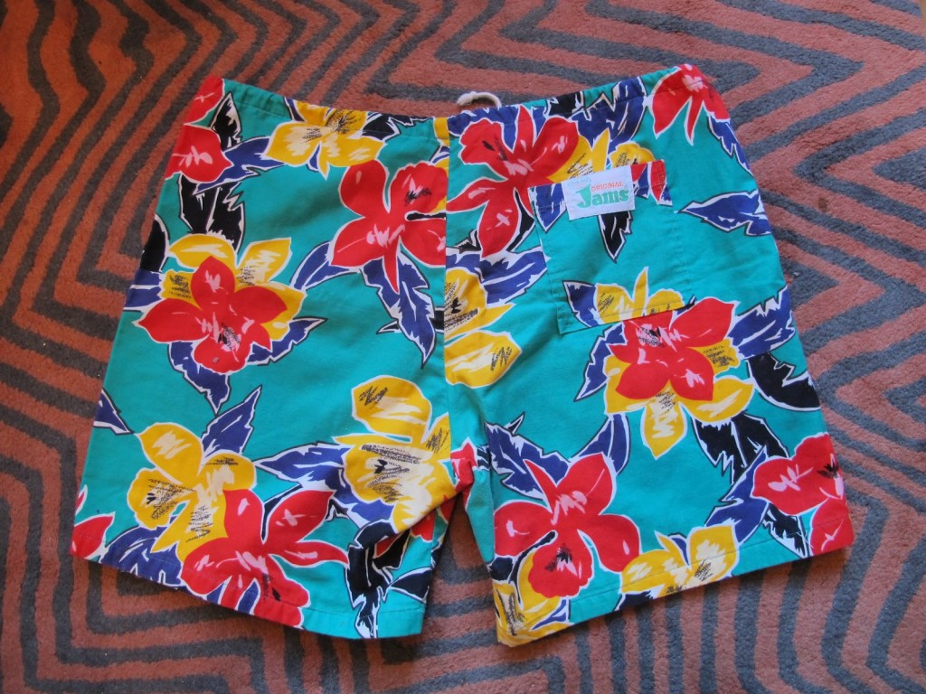 Original Jams shorts from the 80s