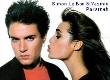Simon Le Bon & Yasmin Parvaneh