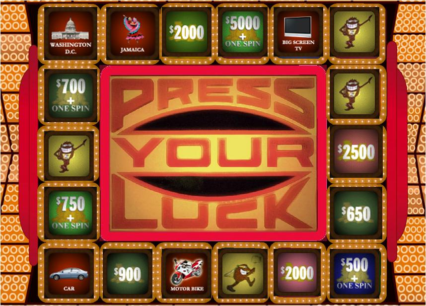 Press Your Luck - 80s Game Show