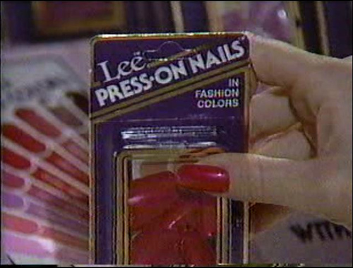 Lee Press On Nails from the 80s