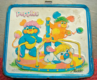 Popples lunchbox (photo credit: New England Collectible Auctions)