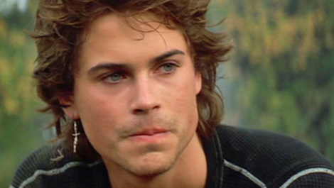 Rob Lowe in the 80s