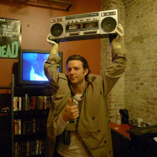Lloyd Dobler Costume with built-in arms