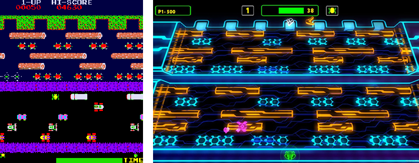 frogger-then-&-now