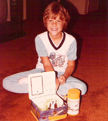Battlestar Galactica lunchbox (photo credit: kerrytoonz)