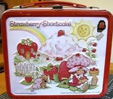 Strawberry Shortcake Metal Lunchbox