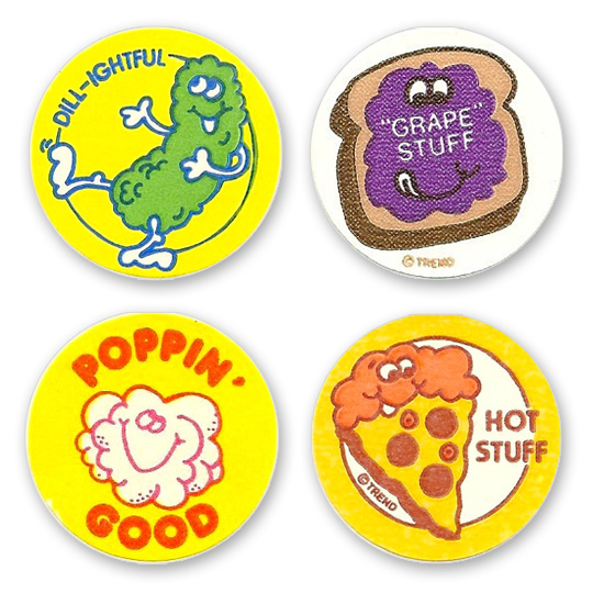 Image result for scratch n sniff stickers 80s