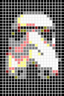 Stormtrooper, 8-Bit Art by Tibs