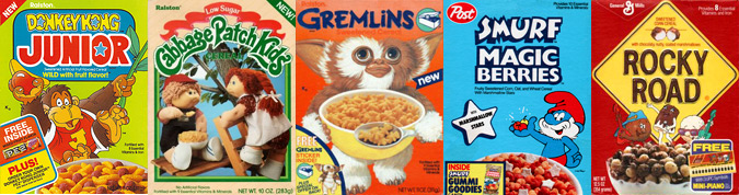 Cereal from the 1980s