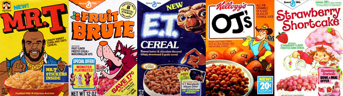 Cereal from the 80s