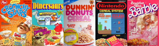 Cereal from the 1980's