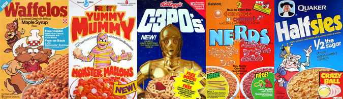 1980's cereal
