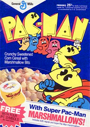 Pac-Man cereal from the 1980s