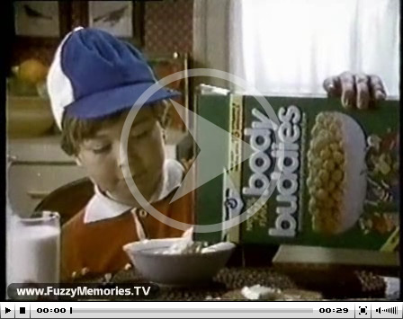 Click here to watch the Body Buddies cereal commercial.