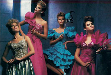 80s Prom Fashions