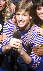 Alan Hunter during his MTV VJ days