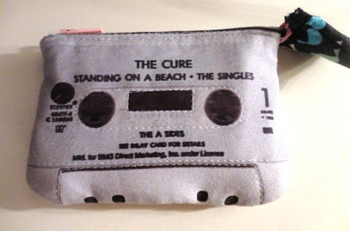 Cassette Tape Clutch (photo credit: Sugar Shox Crafts)