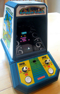 Galaxian Coleco mini-arcade tabletop game
