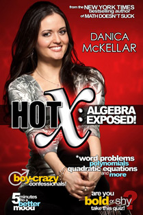 "Danica McKellar's ""Hot X: Algebra Exposed"""