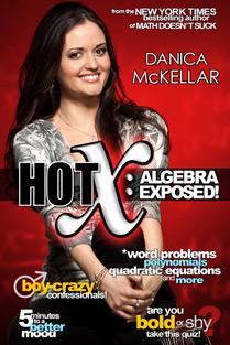 """Danica McKellar's """"Hot X: Algebra Exposed"""""""