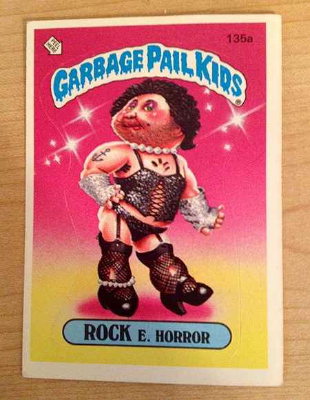 Garbage Pail Kids: Rock E. Horror