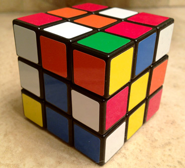 The new Rubik's Cube