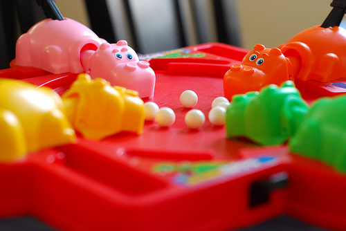 Hungry Hungry Hippos Madness | Like Totally 80s