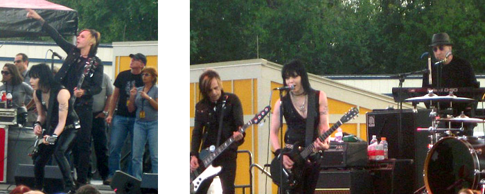 Joan Jett and the Blackhearts concert
