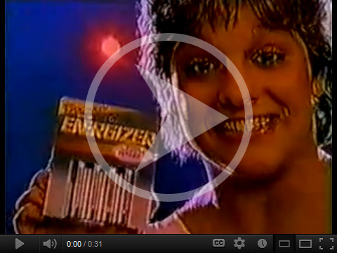 Energizer commercial featuring Mary Lou Retton