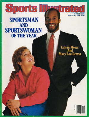 "Mary Lou Retton selected ""Sportswoman of the Year"" by Sports Illustrated (photo credit: hoganheroes1)"