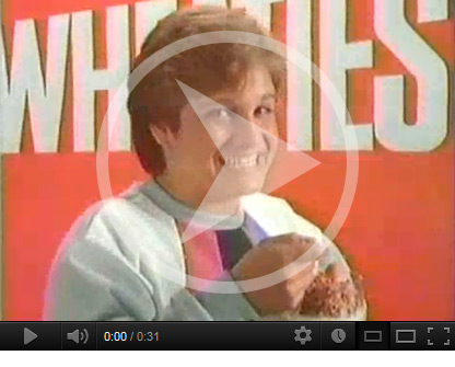 Click to watch Wheaties commercial starring Mary Lou Retton
