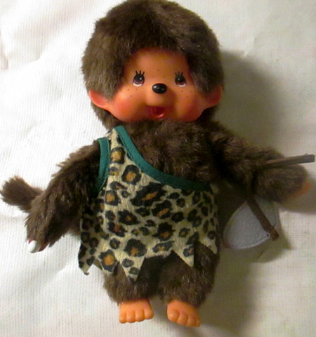 Monchhichi: Caveman (photo credit: Thrill of the Hunt)