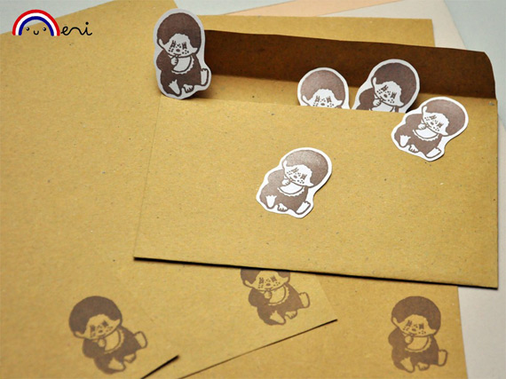 Monchhichi stationary (photo credit: Memi The Rainbow)