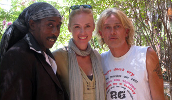 Alli of Like Totally 80s with Deon Estus and Nick Richards of Boys Don't Cry