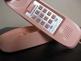 """Pinky"" Conair phone"