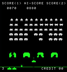 80s Arcade Game: Space Invaders