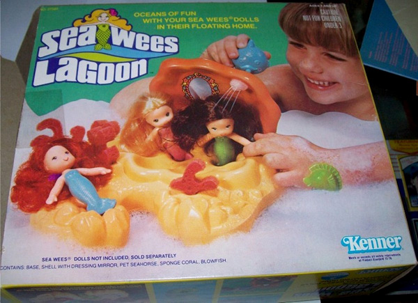 Sea Wees Lagoon - 80s Toy by Kenner