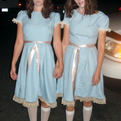80s Costume – The Creepy Twins from The Shining