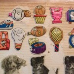 80s stickers from ylvia Drastata's collection