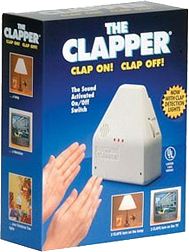 Clap on! Clap off! The Clapper!