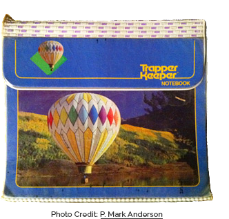 Hot Air Balloons Trapper Keeper