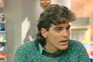 George Clooney during his Facts of Life days.